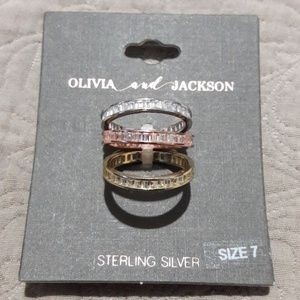 3 stackable rings